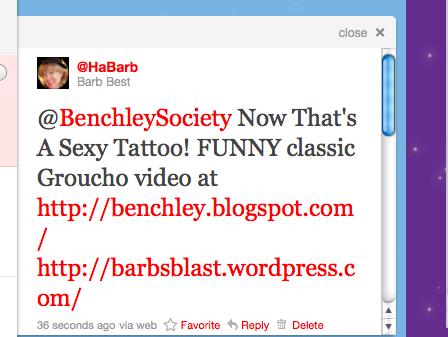 @HaBarb tweet